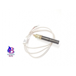 Gas thermopile with twin lead